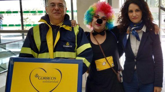 Correos recoge las cartas para los Reyes Magos en hospitales y otros centros de la provincia