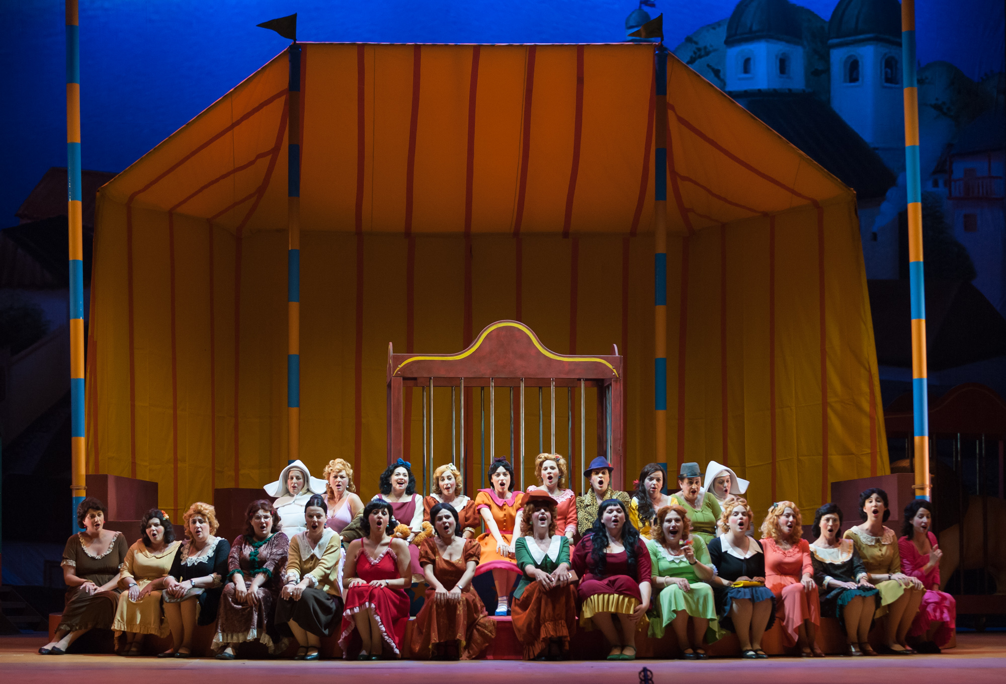El Coro Femenino de la Maestranza se estrena el próximo martes en el Teatro