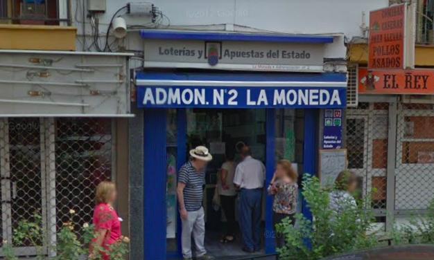 Premio de segunda categoría de Bonoloto en San Juan de Aznalfarache