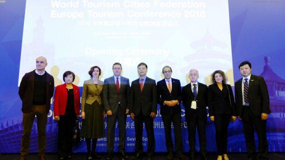 La capital se propone para albergar una sede de la entidad internacional Federación de Ciudades Turísticas
