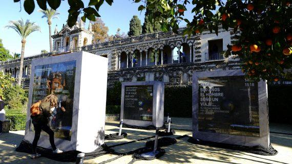 El Real Alcázar conmemora el V centenario de la vuelta al mundo con la muestra audiovisual 'El Sueño'