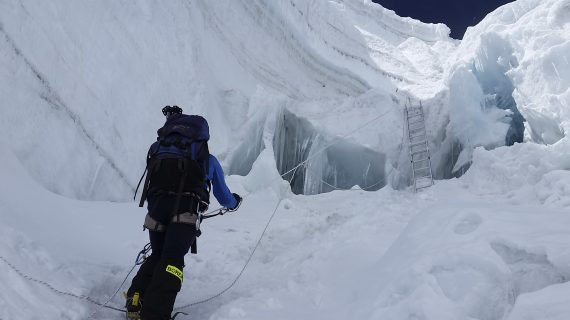 El estepeño José Manuel León Muñoz logra alcanzar la cima del Manaslu