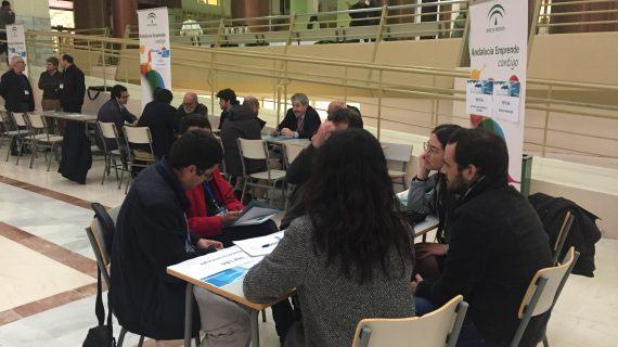 70 empresas y grupos de investigación se reúnen en la ETSI en unas rondas de transferencias de conocimientos