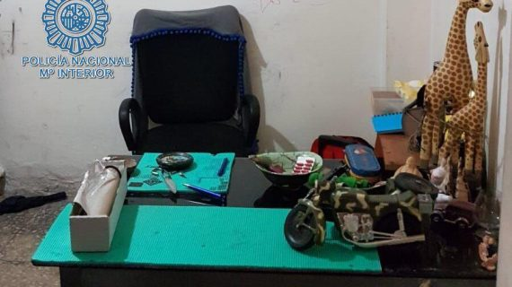 Desarticulado un clan familiar dedicado a la venta de droga en Los Pajaritos