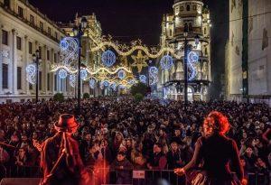 Actividades para celebrar la Navidad en la ciudad bajo el nombre de 'Alumbra'.