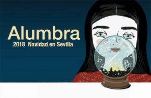 Cartel de 'Alumbra' 2008, obra de la ilustradora sevillana María Hesse.