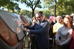 Imagen del día de la inauguración de la iniciativa.