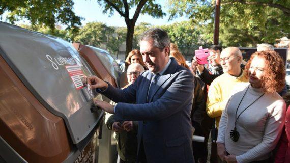 La recogida selectiva de bioresiduos ya es posible en Sevilla Este