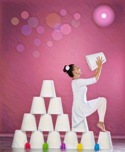 Susana Almahano interpreta 'Colores', espectáculo familiar recomendado de 2 a 8 años, principalmente.