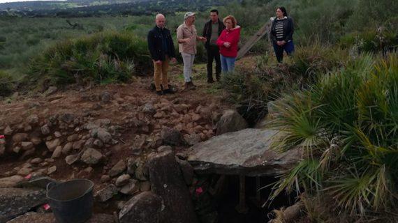 El dolmen de la Lapa del Moro de El Castillo de las Guardas será restaurado