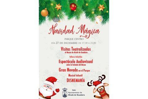 Nieve artificial, talleres, mapping y un musical de Disney para celebrar la Navidad en Alcalá