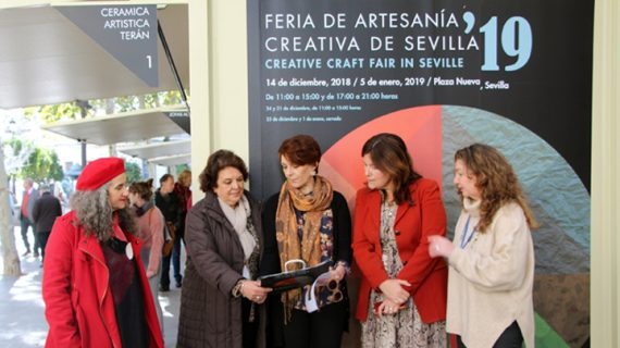 La Feria de Artesanía Creativa ya está en la Plaza Nueva