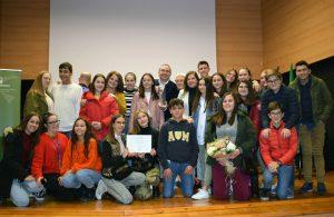 En la entrega del Premio Andalucía + Social a las buenas prácticas en el ámbito de las adicciones.