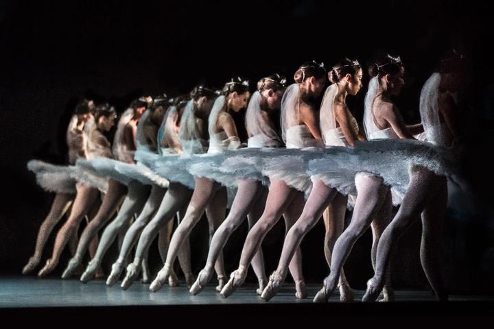En la imagen, el ballet de 'La Bayadère'.