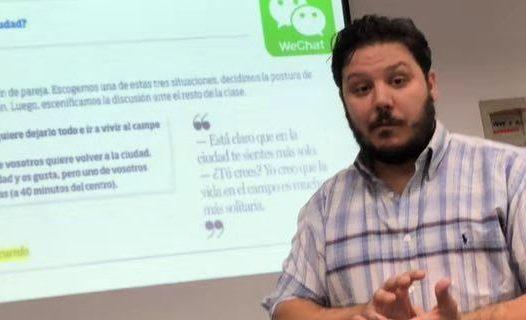 El sevillano Pablo Cordero, del barrio de El Porvenir a China para enseñar español