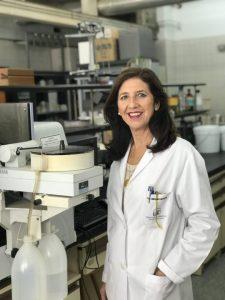 Olimpia Carreras, catedrática de Fisiología de la Universidad de Sevilla e inventora principal / Imagen: Fundación Descubre.