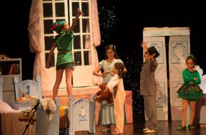 El espectáculo familiar 'Peter Pan y Wendy', en Teatro TNT los días 26, 27 y 28 de diciembre.