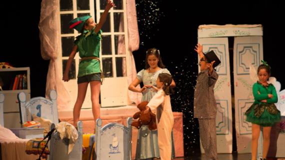'Peter Pan y Wendy' despiden el año en la II Muestra de Teatro Infantil y Familiar