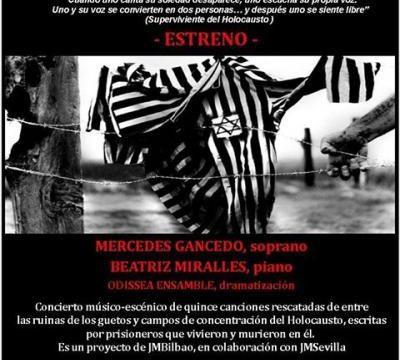 Sevilla rinde homenaje a las víctimas del Holocausto en el concierto 'Sonidos sin eco'