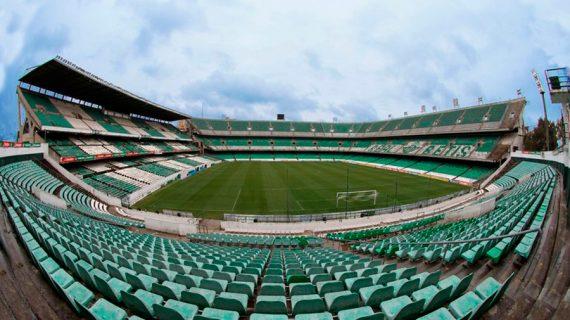 El Benito Villamarín, sede de la final de la Copa del Rey