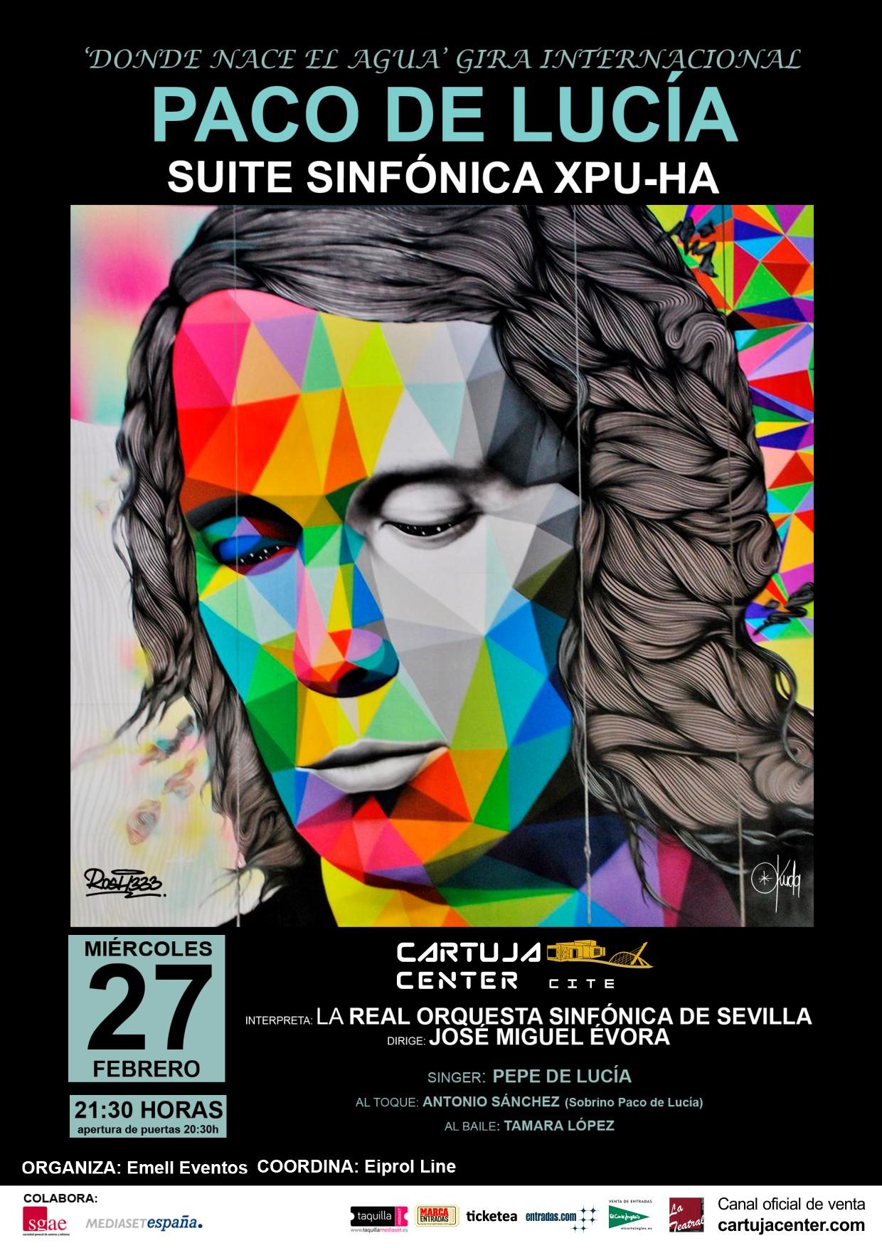 Comienza la Gira Internacional Xpu-Ha homenaje a Paco de Lucía en el Cartuja Center