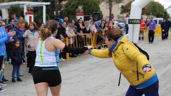 La carrera de Fuentes de Andalucía bate récord de participación femenina
