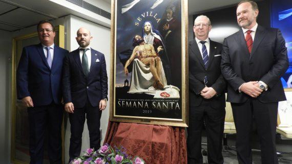 El cartel de la Semana Santa sevillana se presentará por primera vez en Madrid en Fitur