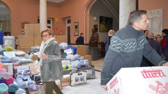 Más de mil mantas para personas en riesgo de exclusión social