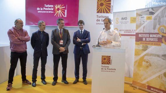 El deporte sevillano se promociona en la Feria Internacional de Turismo