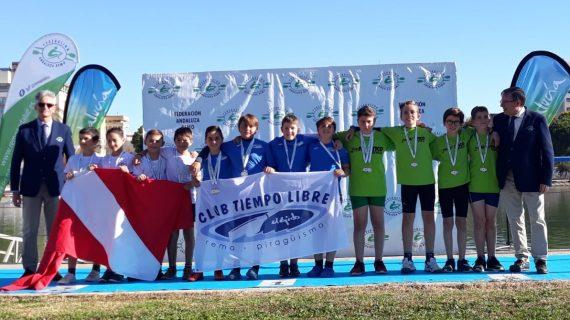 La XXII Copa de Andalucía de remo se celebró con nuevos medallistas