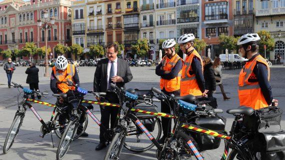Protección Civil prestará atención sanitaria moviéndose en bicicleta por la ciudad