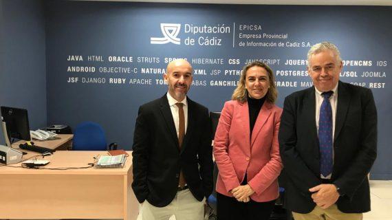 Diputaciones de Sevilla, Cádiz y Córdoba trabajan en modelo de ayuntamiento digital