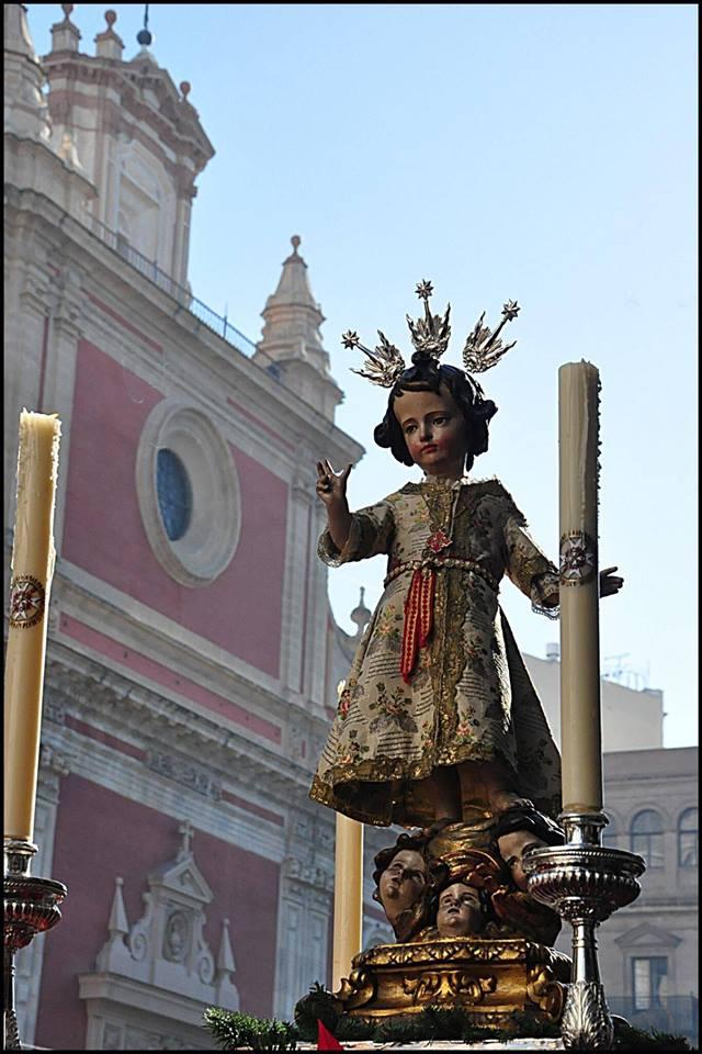 El Niño Jesús del Valle inaugura las procesiones del año cofrade