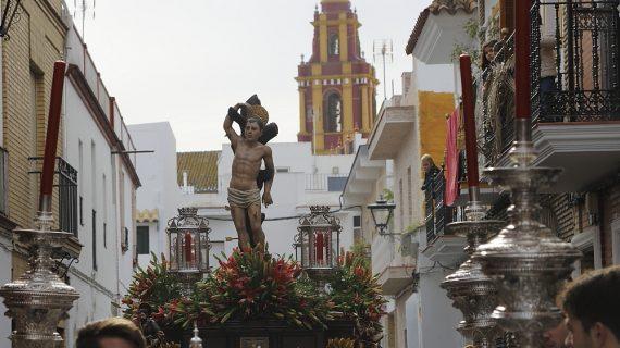 San Sebastián paseará por el casco histórico de Los Palacios el domingo 20 de enero