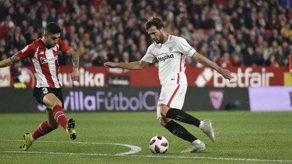 (0-1) El Sevilla hace valer el resultado de la ida y pasa a cuartos