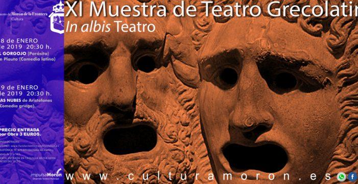 XI Muestra de Teatro Grecolatino de In Albis Teatro este fin de semana en Morón
