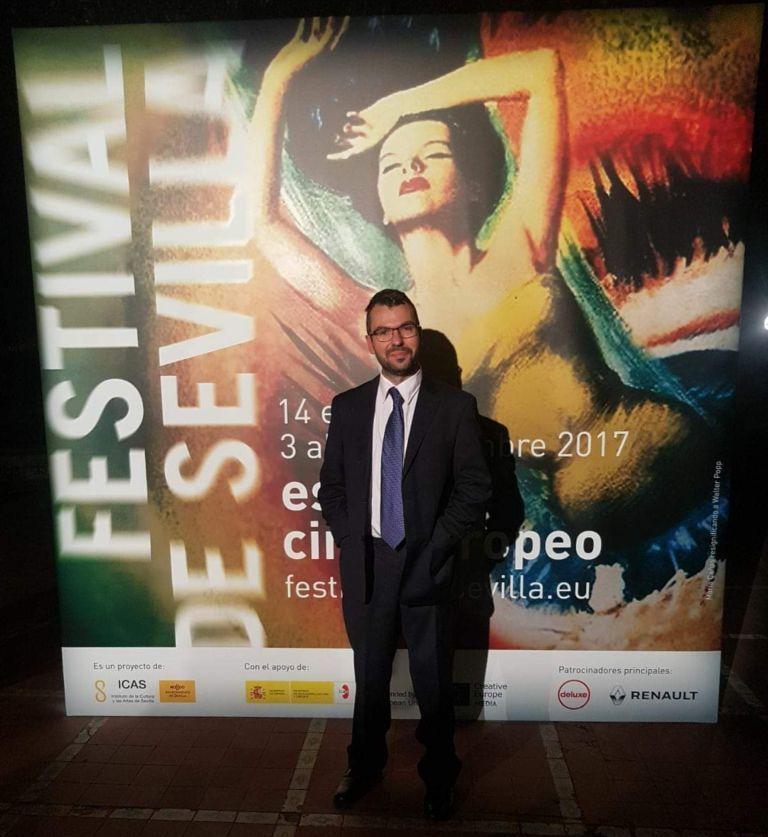 """Alejandro Reche: """"Sevilla se convierte en la capital del cine y la cultura con los Goya"""""""