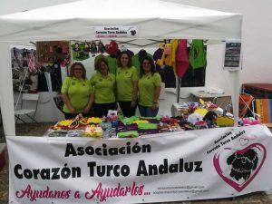 En la imagen, a la derecha, Miriam Troyano, junto a alguna de sus compañeras de la Asociación.