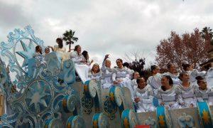 En la imagen, una carroza de la Cabalgata de Sevilla. / Foto: Ayuntamiento de Sevilla.