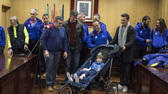 El Club de Atletismo 'Los 100 metros' de Estepa fomenta la integración de niños con necesidades especiales