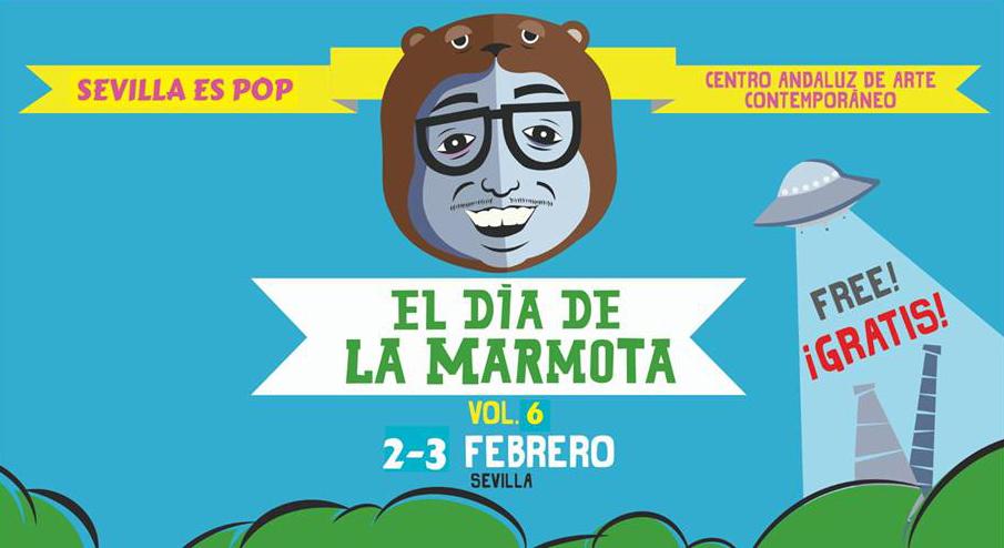 Cartel de la edición de 2019 del festival 'El día de la marmota'.