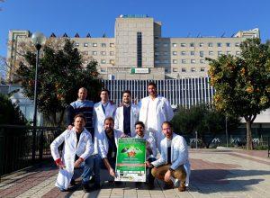 Iniciativa solidaria con partido benéfico impulsada por profesionales de este hospital sevillano.