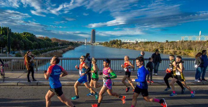 Consulta aquí los cortes de tráfico por la EDP Media Maratón de Sevilla