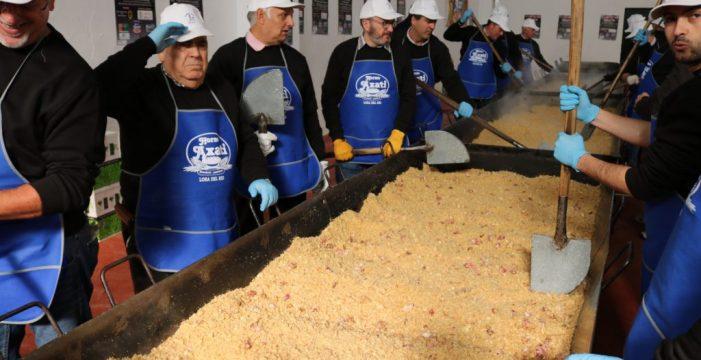 Más de 15 mil personas podrán degustar las migas en Lora del Río
