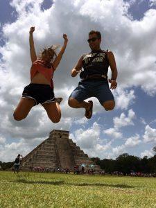 En la imagen, de vacaciones en México.