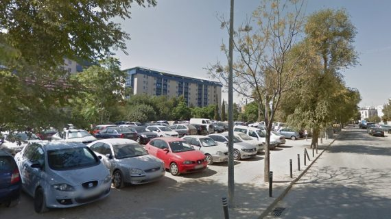 El solar de la calle Campamento en Nervión será una zona de aparcamientos
