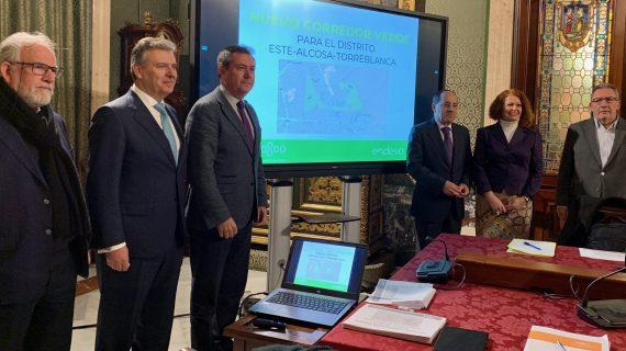 Acordado el proyecto de un corredor verde en el Distrito Este-Alcosa-Torreblanca