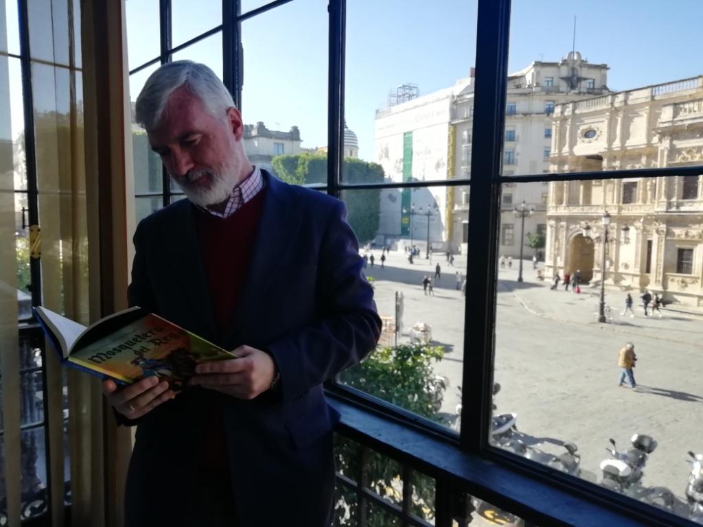 Juan Pedro Delgado Espada: 'Mosquetero del Rey' es la forja del héroe humano