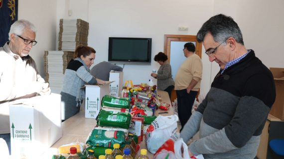 Recogidas más de 6 toneladas de alimentos en El Viso gracias a la 'Caravana por la paz'