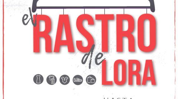 La Plaza de la Mercadería acoge el sábado una nueva edición de 'El Rastro de Lora'